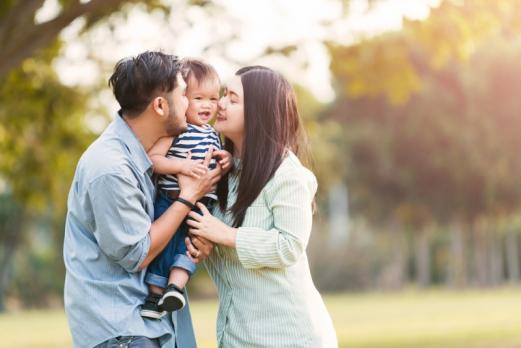 Famille enfant adoption