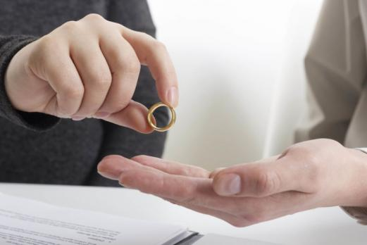 Couple divorce séparation